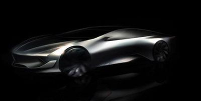 Ini Sketsa Pesaing Tesla Model S dari China