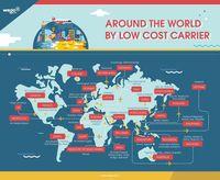 Keliling Dunia Kini Lebih Cepat & Murah Naik Maskapai Bujet