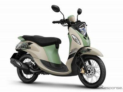 Blue Core Merambah ke Yamaha New Fino di Thailand