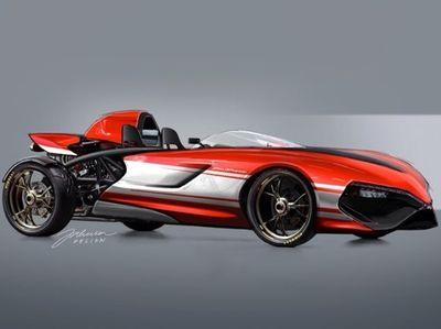 Begini Bentuknya Kalau Ducati Panigale Jadi Mobil