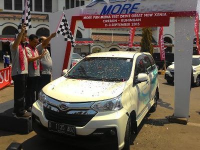 Merasakan Tarikan Daihatsu Xenia di Cirebon