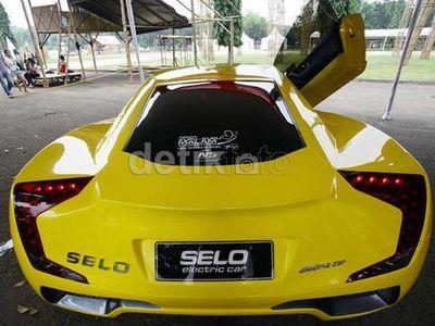 Si Kuning Mobil Listrik Selo Dibeli Malaysia?