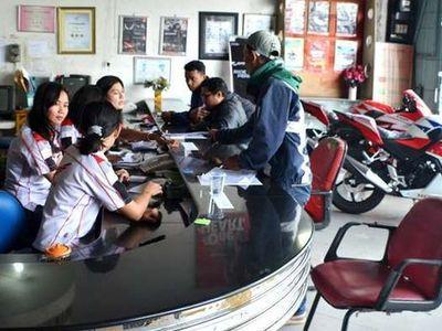 Penjualan Motor Terkerek Ojek Online