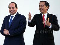 Jokowi Terima Kunjungan Presiden Mesir Al-Sisi