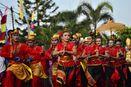 Lampung Juga Punya Fashion Carnaval, Tak Kalah Keren dari Jember
