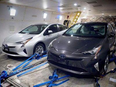 Tampang Toyota Prius Anyar Bocor