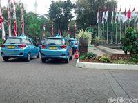 Taksi-taksi MPV di Berbagai Daerah di Indonesia