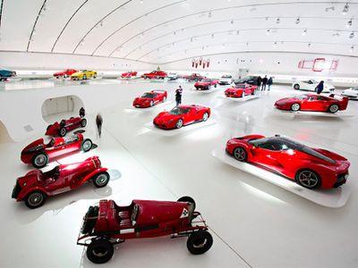 Museum Ferrari, Tempat Belajar Si Kuda Jingkrak yang Tak Pernah Sepi