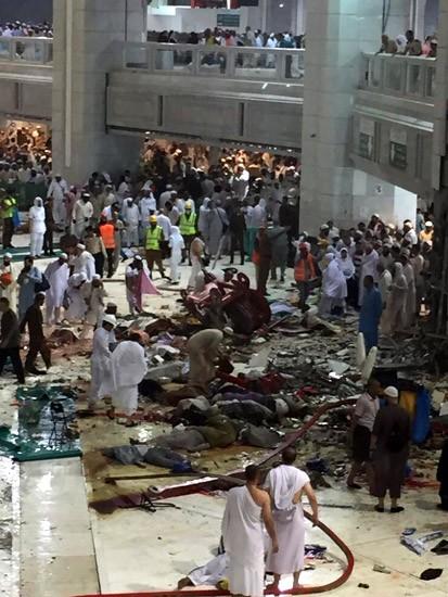 Crane Jatuh di Masjidil Haram, Puluhan Jemaah Meninggal