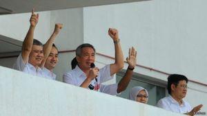 Partai Berkuasa Singapura Menangi Pemilu