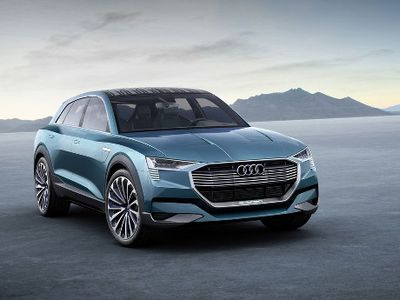 Ini Tampang SUV Listrik Milik Audi