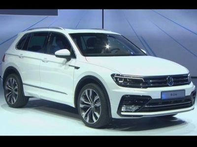 Resmi, VW Tiguan Versi Anyar Meluncur di Pameran Frankfurt