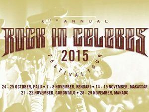 Edane, The S.I.G.I.T Hingga Burgerkill Siap Tur di Rock In Celebes 2015