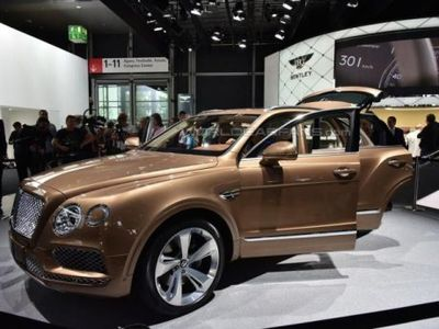 Wow, SUV Bentley Pertama Sudah Dipesan Ratu Elizabeth II