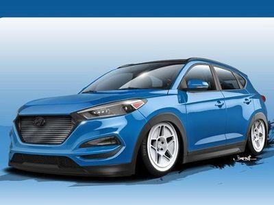 Hyundai Tucson Terganas Akan Tampil November Mendatang