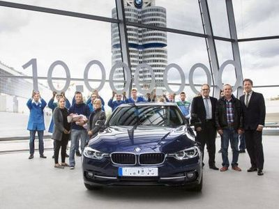 BMW Kirim Sedan Seri 3 ke-10 Juta