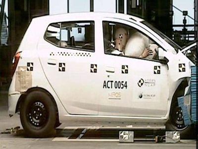 Hasil Uji Tabrak: Agya-Ayla 4 Bintang, Datsun GO Airbag 2 Bintang