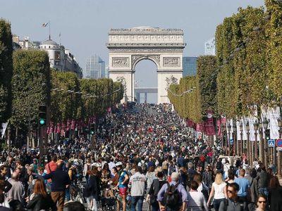 Pertama Kalinya, Kota Paris Terbebas dari Kendaraan