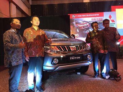 Mitsubishi All New Triton Resmi Mengaspal di Makassar