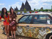4 Mobil Nyentrik Berbaju Batik