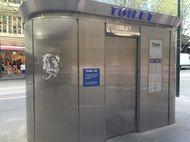 Duh, WC Umum Canggih di Melbourne Penuh Corat-coret
