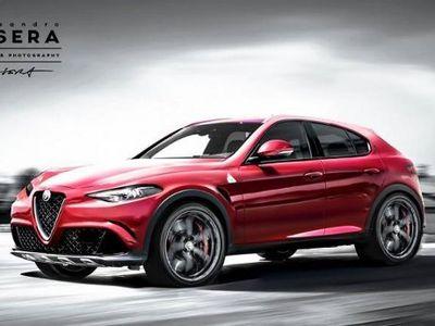 Beginikah Bentuk SUV Alfa Romeo?