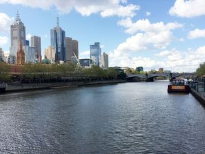 Wisata Gratis Tepi Sungai di Melbourne