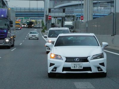 Pakai Lexus GS, Toyota Mulai Uji Mobil Otonom
