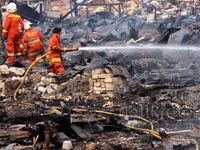 Puluhan Lapak Pemulung Terbakar