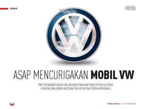 Asap Mencurigakan Mobil VW