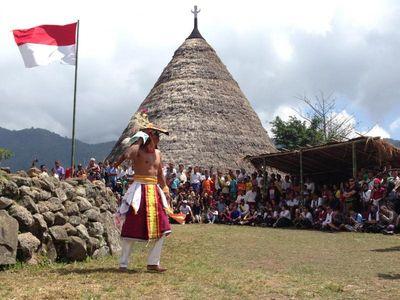 Penti, Upacara Adat yang Sakral di Wae Rebo