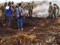 TNI Berhasil Padamkan 3.163 Titik Api di Empat Provinsi