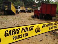 Polisi Gerebek Gudang Truk Curian di Depok
