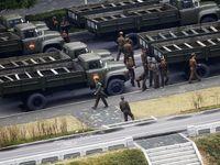 Parade Militer Ramaikan HUT Partai Pekerja Korut
