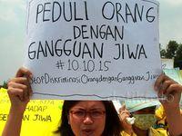 Aksi Stop Diskriminasi Terhadap ODGJ