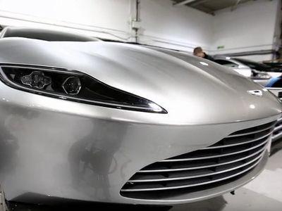 Penasaran dengan Interior Mobil James Bond? Ini Rekamannya