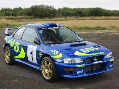 Mobil Reli Subaru Impreza Tunggangan Valentino Rossi Dilelang