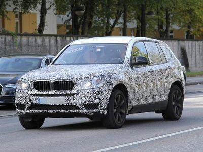 BMW X3 Teranyar Mulai Tampil