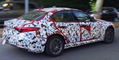 Begini Tampang Alfa Romeo Giulia Versi Murah