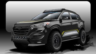 Hyundai Tucson Buat Pecinta Off-Road