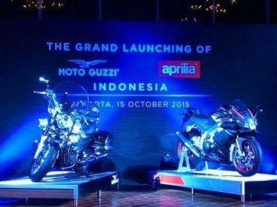 Luncurkan Aprilia dan Moto Guzzi, Piaggio Siapkan