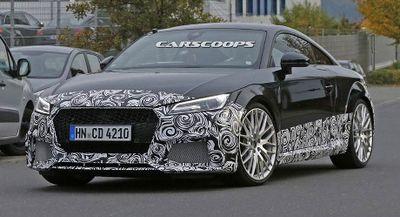 Audi TT RS Terbaru Bakal Punya Tenaga 400 Daya Kuda