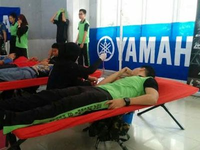 Yamaha Youth Community Adakan Aksi Donor Darah