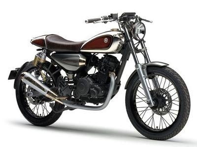 Resonator 125, Konsep Motor Klasik dari Yamaha