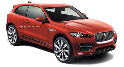 Begini Bentuk Jaguar F-Pace Jadi SUV Coupe