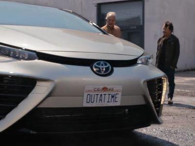 Toyota Back to The Future dengan Mirai