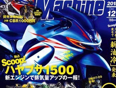 Suzuki Hayabusa Punya Mesin 1.500 cc?