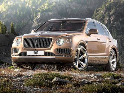 SUV Pertama Bentley Pakai Mesin Diesel