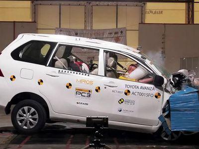 Hasil Uji Tabrak 13 Mobil yang Populer di Indonesia