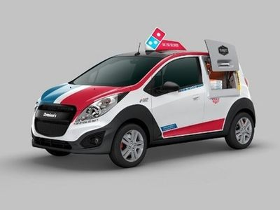 Mobil Para Pengantar Pizza
